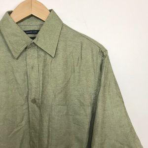 NWT Haggar Suede Luxe Shirt